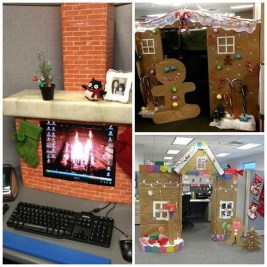 Gorgeous Office Christmas Decoration Ideas04