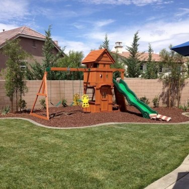 Incredible Backyard Playground Kids Design Ideas17