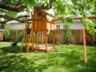 Incredible Backyard Playground Kids Design Ideas22