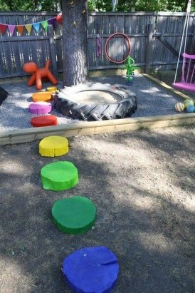 Incredible Backyard Playground Kids Design Ideas29