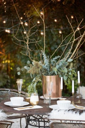 Inexpensive Diy Outdoor Winter Table Decoration Ideas27