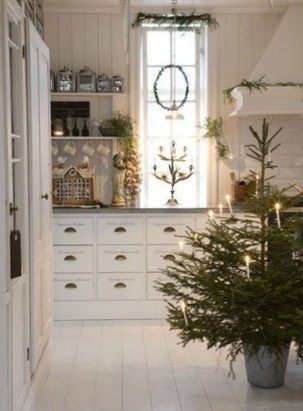 Lovely Christmas Kitchen Decorating Ideas07
