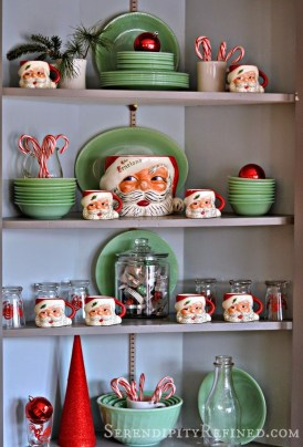 Lovely Christmas Kitchen Decorating Ideas32