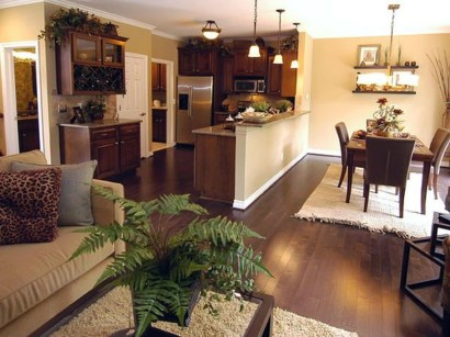 Unordinary Living Room Designs Ideas With Combinations Of Brown Color06