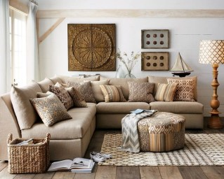 Unordinary Living Room Designs Ideas With Combinations Of Brown Color13