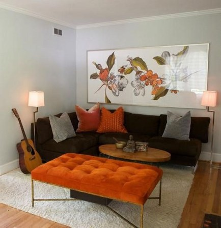 Unordinary Living Room Designs Ideas With Combinations Of Brown Color19