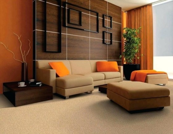 Unordinary Living Room Designs Ideas With Combinations Of Brown Color29