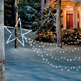 Vintage Outdoor Winter Lights Decoration Ideas29