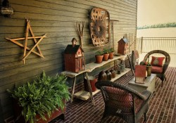 Best Farmhouse Front Porch Decoration Ideas21