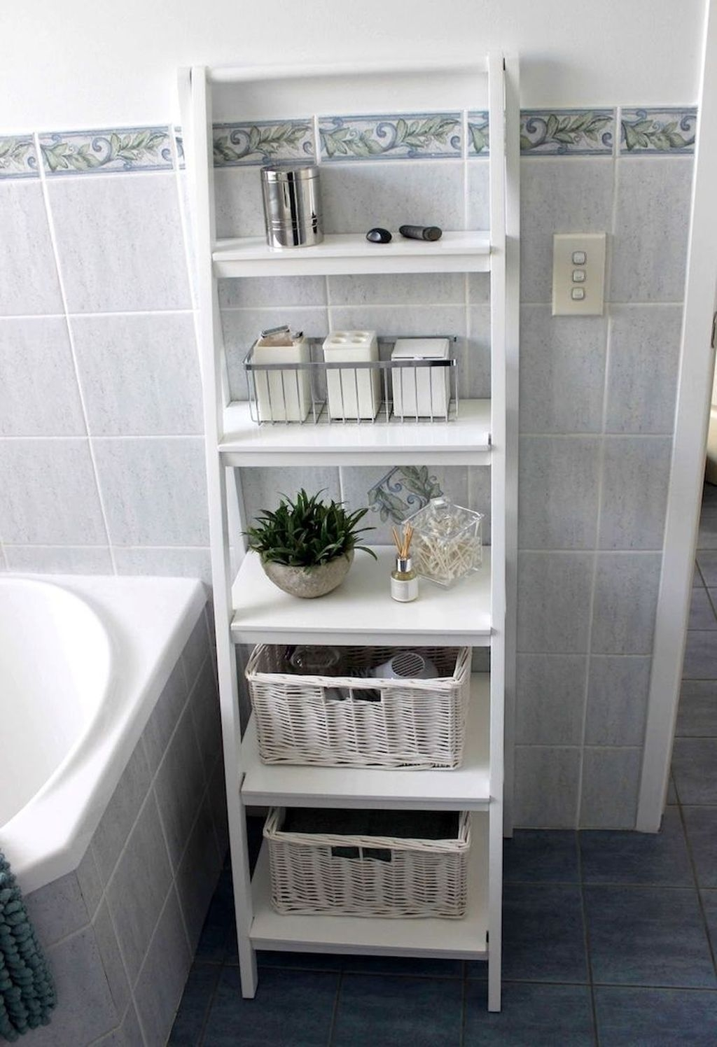 Delightful Bathroom Storage Design Ideas29