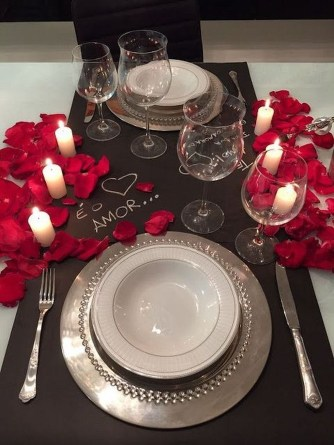 Elegant Table Settings Design Ideas For Valentines Day06