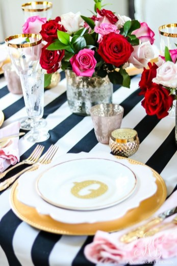 Elegant Table Settings Design Ideas For Valentines Day33