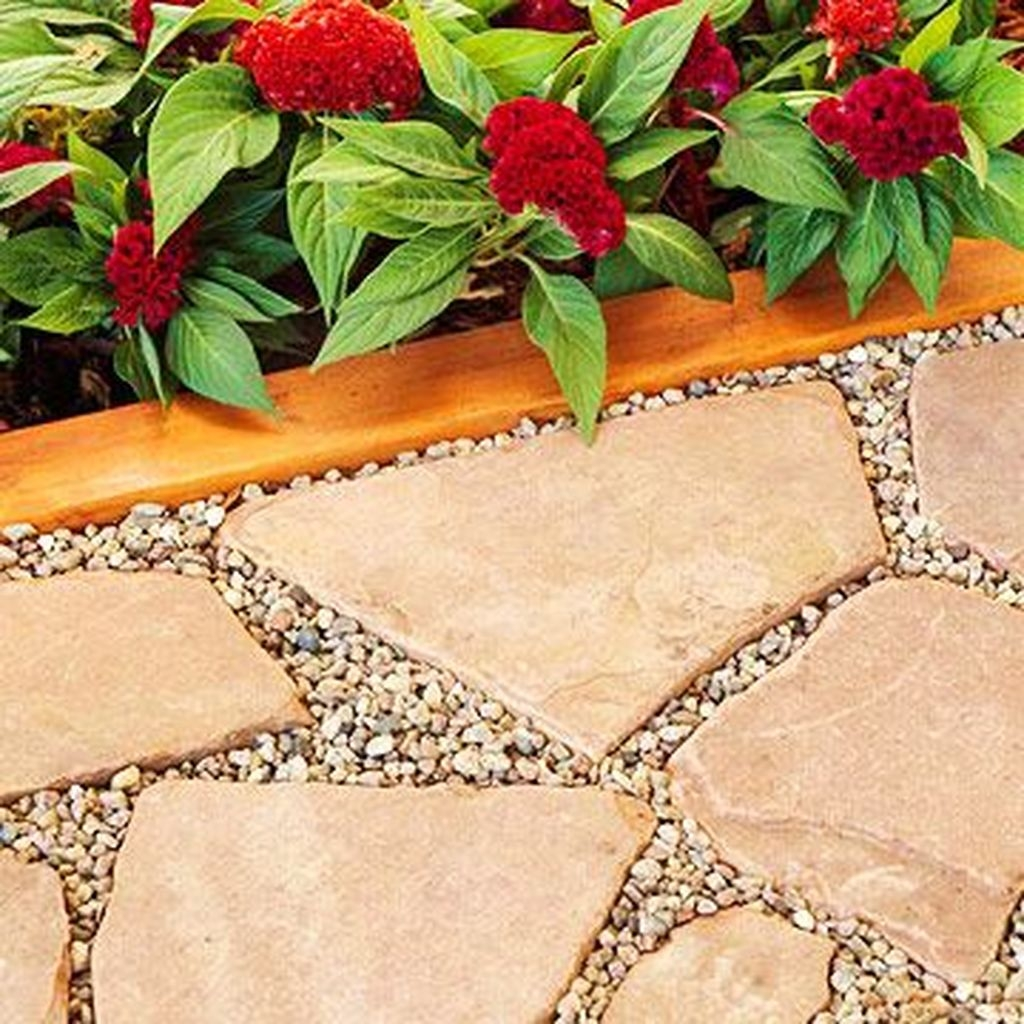 Inspiring Stepping Stone Pathway Decor Ideas For Your Garden31