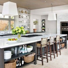 Modern Kitchen Island Design Ideas15