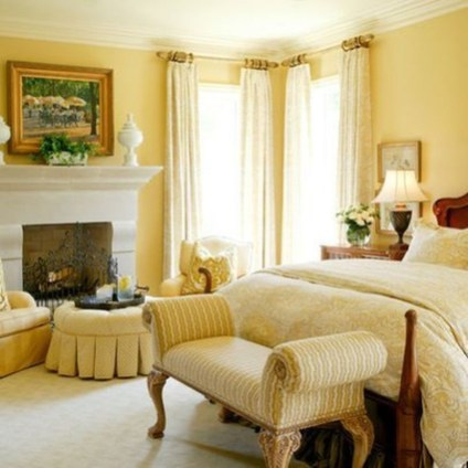 Perfect Yellow Bedroom Decoration And Design Ideas12
