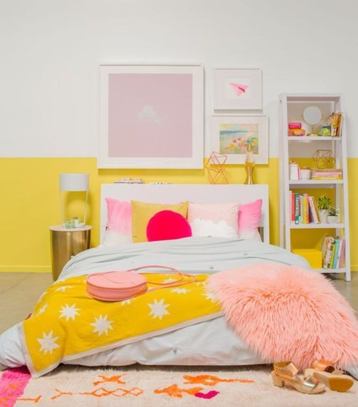 Perfect Yellow Bedroom Decoration And Design Ideas31