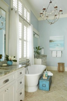 Stunning Coastal Style Bathroom Designs Ideas22