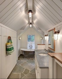 Stunning Coastal Style Bathroom Designs Ideas27