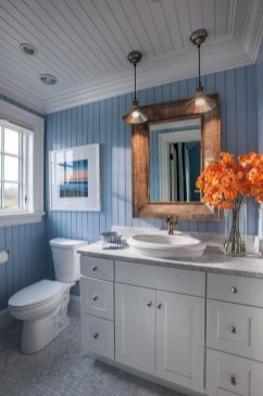 Stunning Coastal Style Bathroom Designs Ideas29