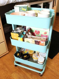 Brilliant Dorm Room Organization Ideas On A Budget25