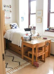 Brilliant Dorm Room Organization Ideas On A Budget32