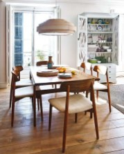 Cool Mid Century Dining Room Table Ideas22