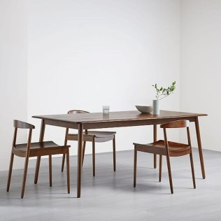 Cool Mid Century Dining Room Table Ideas36
