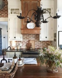 Elegant Farmhouse Kitchen Design Decor Ideas03