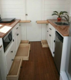 Lovely Tiny House Kitchen Storage Ideas02