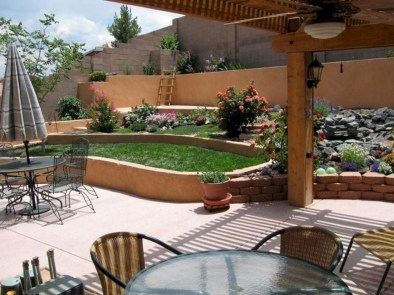 Smart Backyard Landscaping Ideas On A Budget40