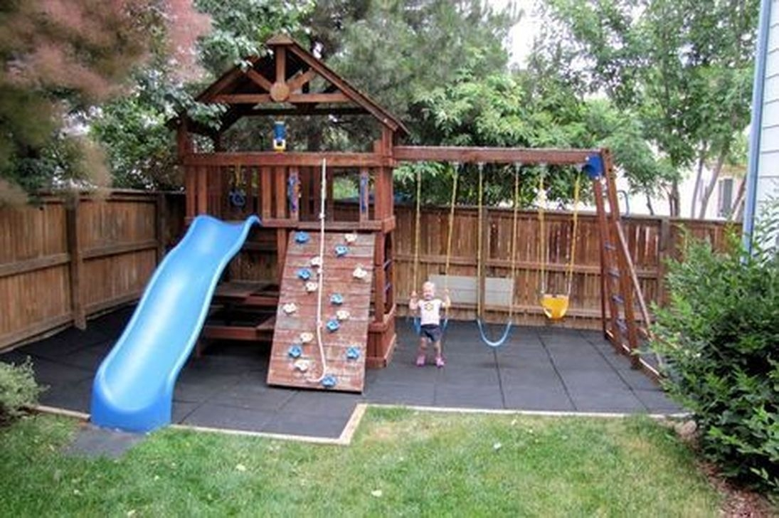 30+ Wonderful Diy Playground Project Ideas For Backyard ...
