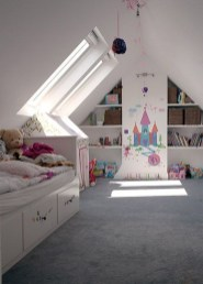 Affordable Attic Kids Room Decor Ideas11