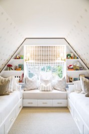 Affordable Attic Kids Room Decor Ideas18