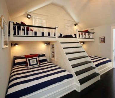 Affordable Attic Kids Room Decor Ideas26