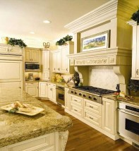 Captivating White Cabinets Design Ideas For Kitchen21