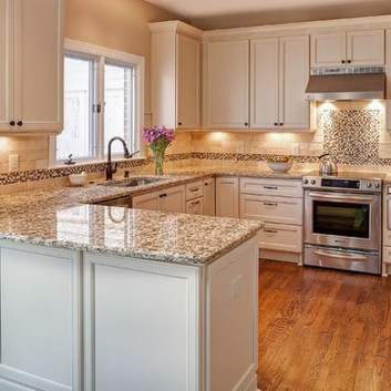 Captivating White Cabinets Design Ideas For Kitchen25