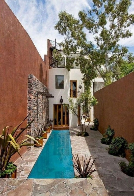 Comfy Mediterranean Swimming Pool Designs Ideas33