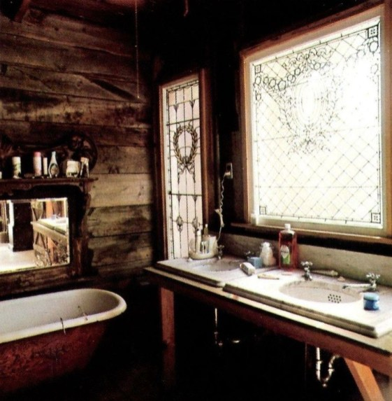 Cute Bohemian Style Decorating Ideas For Bathroom41
