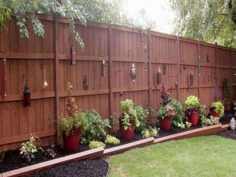 Inspiring Privacy Fence Ideas05