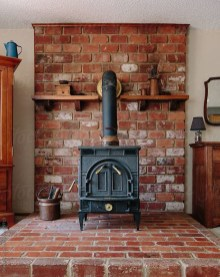 Modern Brick Fireplace Decorations Ideas For Living Room28