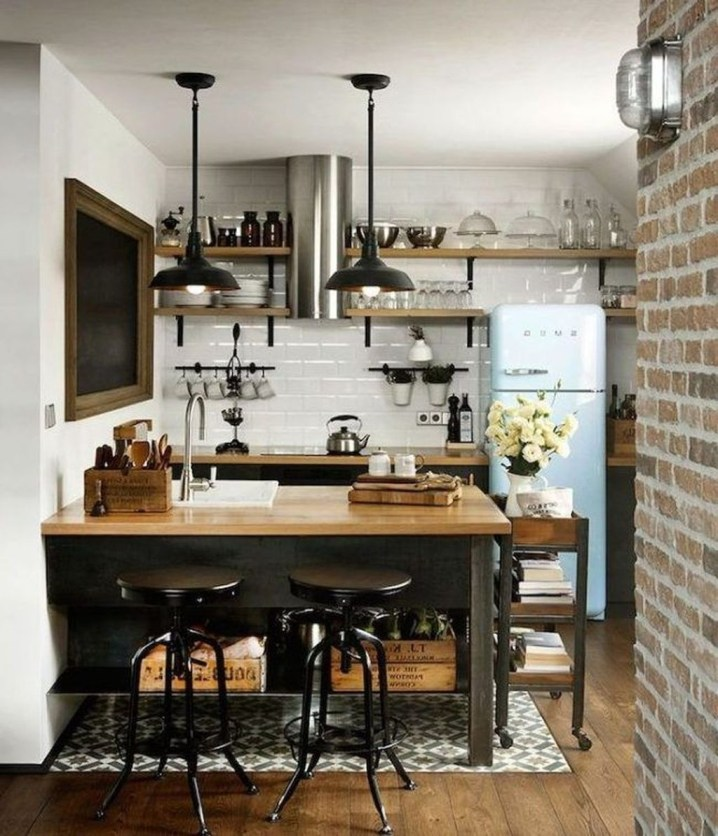 Relaxing Midcentury Decorating Ideas For Kitchen04