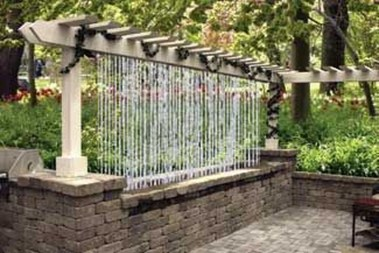 Stylish Outdoor Water Walls Ideas For Backyard21