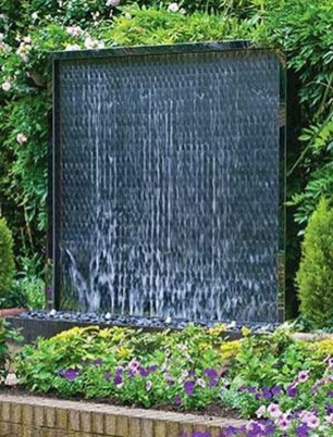 Stylish Outdoor Water Walls Ideas For Backyard32