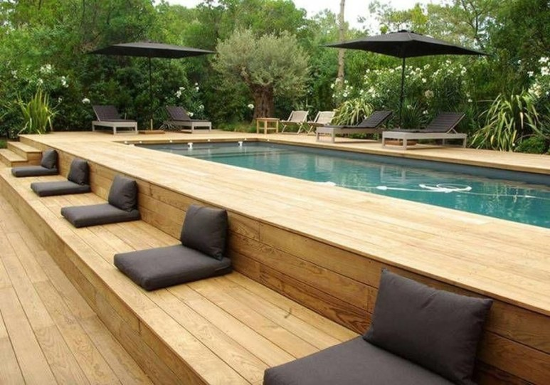 Affordable Ground Pool Landscaping Ideas09