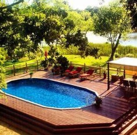 Affordable Ground Pool Landscaping Ideas11
