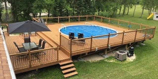 Affordable Ground Pool Landscaping Ideas23