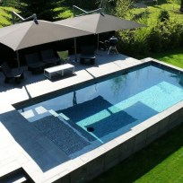 Affordable Ground Pool Landscaping Ideas28