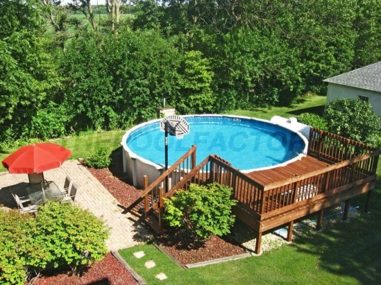 Affordable Ground Pool Landscaping Ideas32