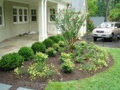 Beautiful Front Yard Cottage Ideas For Garden Landscaping20