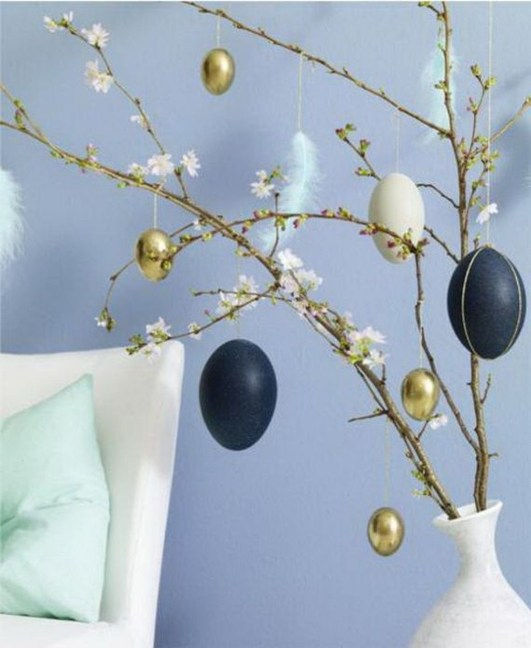 Fascinating Easter Holiday Decoration Ideas For Home06